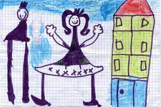 Come interpretare il disegno della famiglia di un bambino