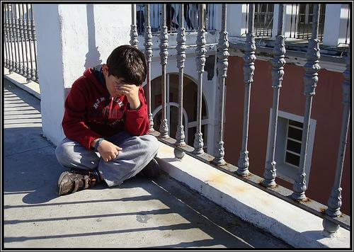 I bambini soffrono la separazione dei genitori
