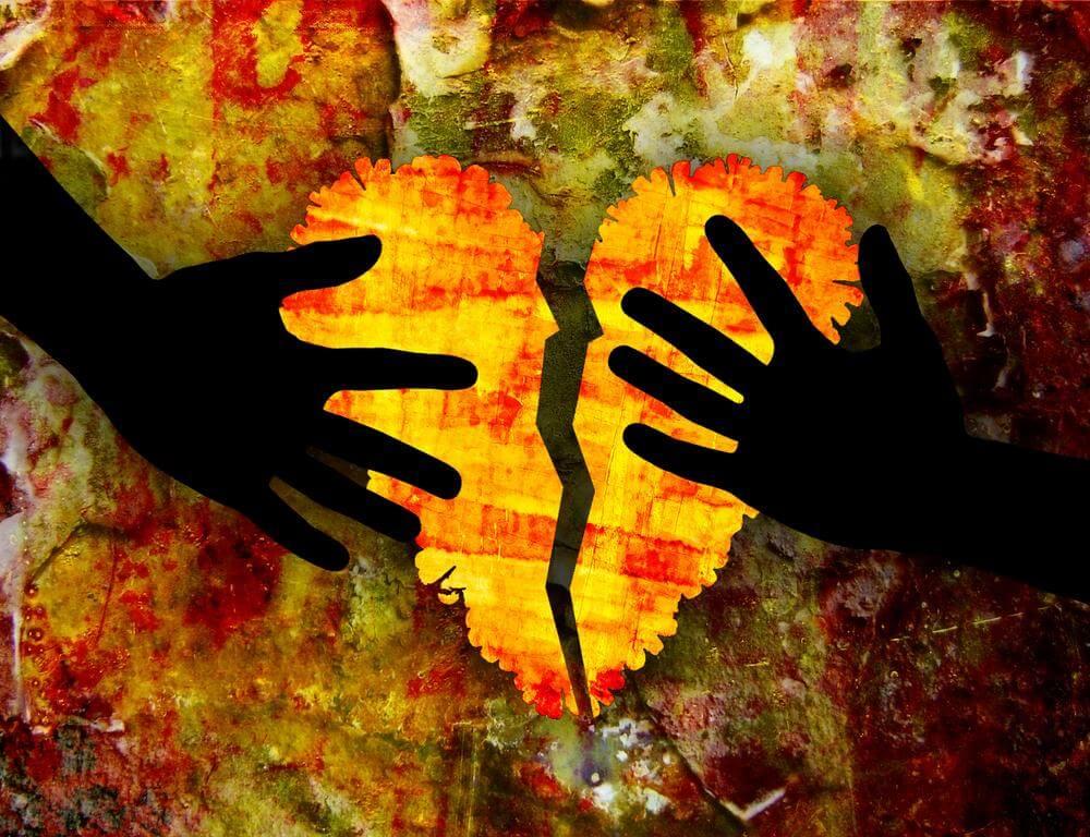 Gestire i sentimenti che accompagnano una rottura dolorosa