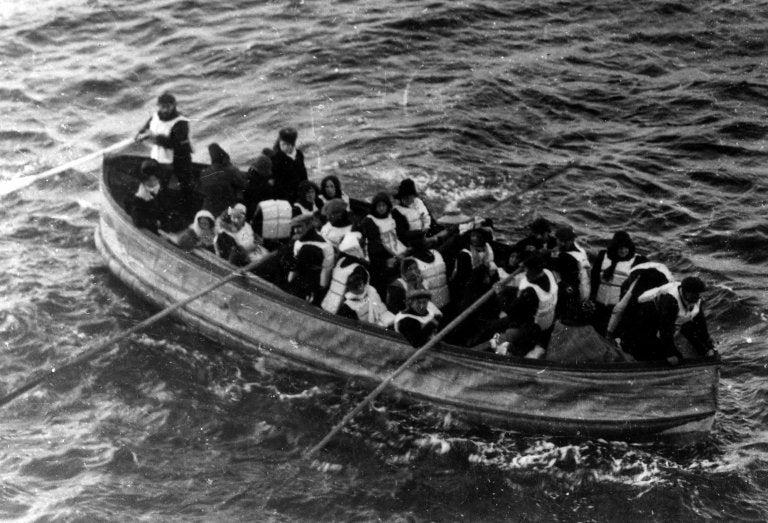 Il drammatico racconto di un sopravvissuto del Titanic