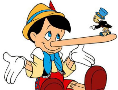 Le facce della bugia: tipi e forme