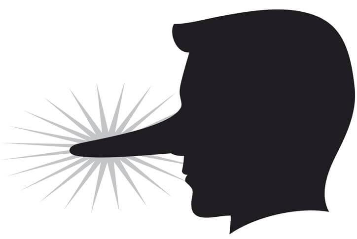 Le 8 bugie tipiche degli uomini