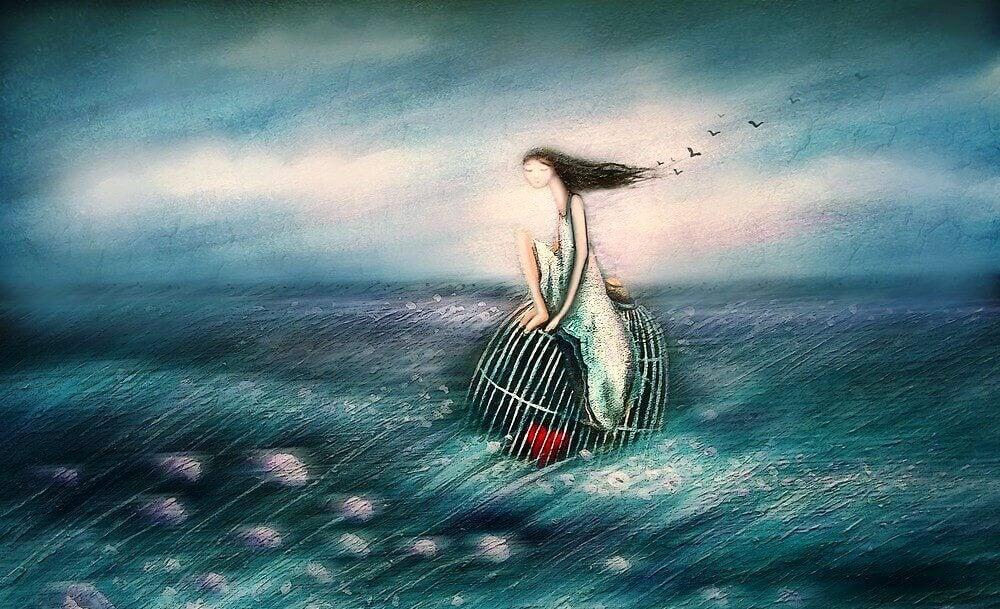 La vita è un duro equilibrio tra trattenere e lasciare andare