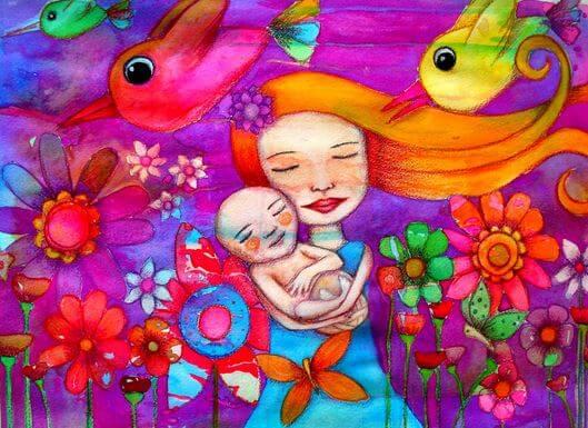 Ciò che significa essere madre