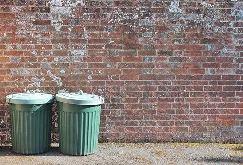 La metafora del bidone della spazzatura