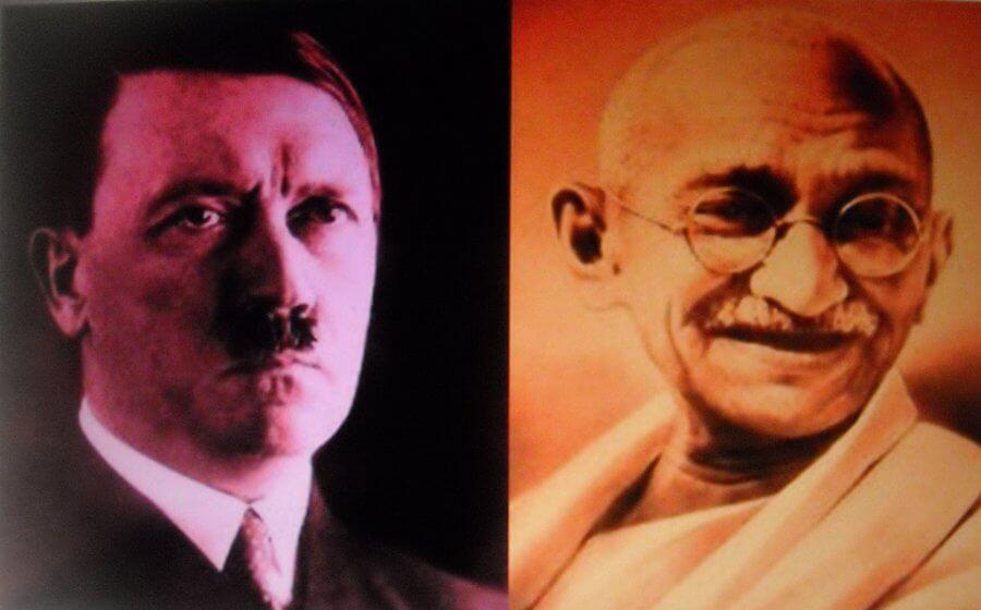 La lettera che Gandhi scrisse a Hitler