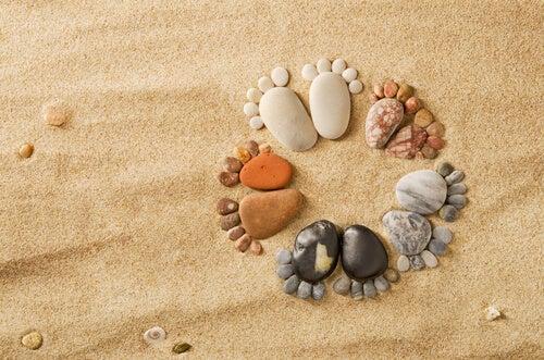 Inciampare sulla stessa pietra, usanze e abitudini
