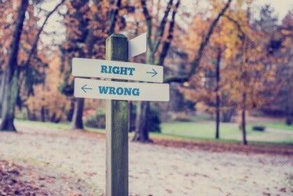 Giusto-sbagliato
