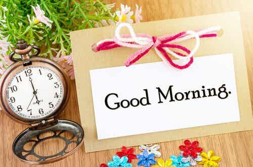 5 buoni motivi per alzarsi alle 6 di mattina