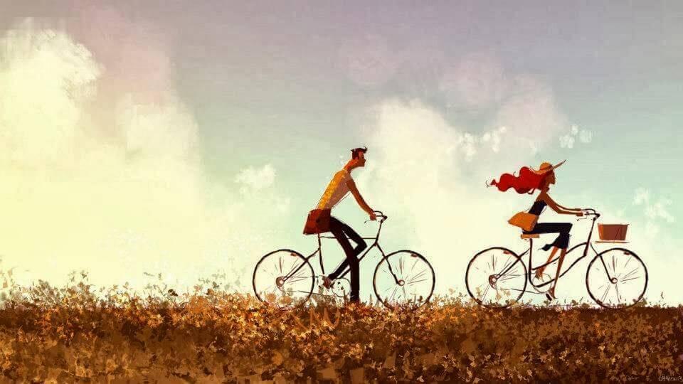 Coppia-bicicletta