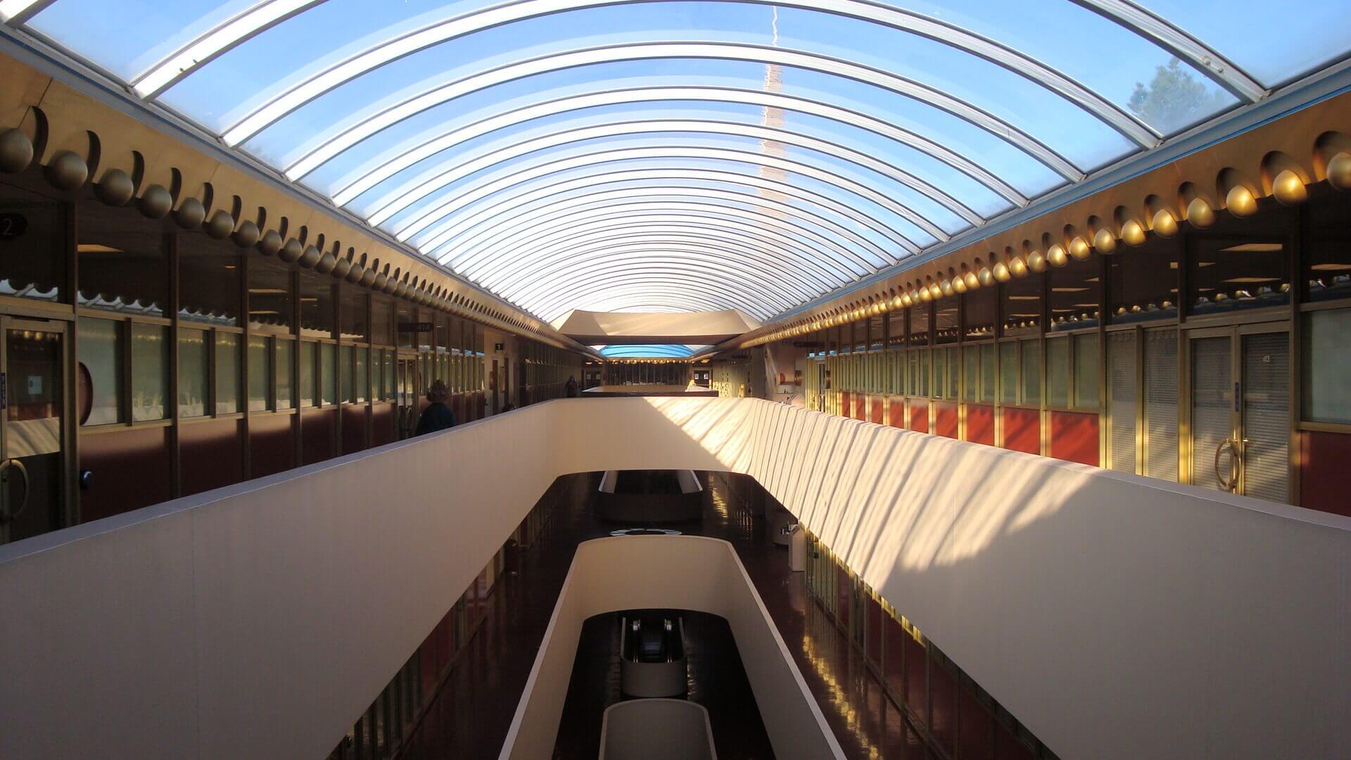 Marin Civic Center interior