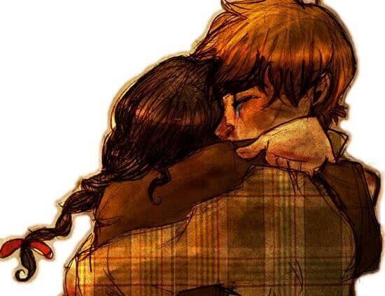 abbraccio fidanzati