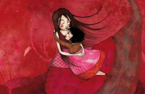 I bambini hanno bisogno degli abbracci per sentirsi parte del mondo