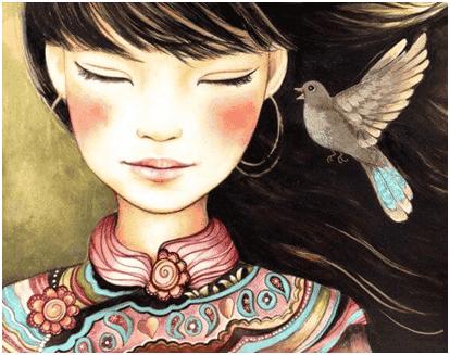 La donna-medicina: colei che vede la vita con amore e bontà