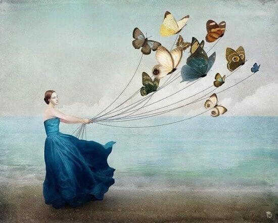 Lasciare andare significa accettare il proprio passato, ma non il proprio destino