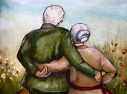 nonni mano nella mano