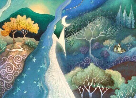 paesaggio-notturno-luna