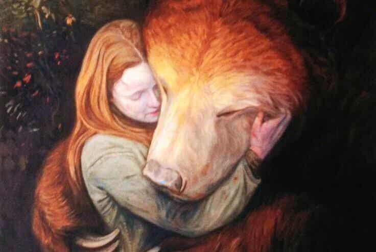 Ho bisogno di un abbraccio così forte che scacci ogni paura