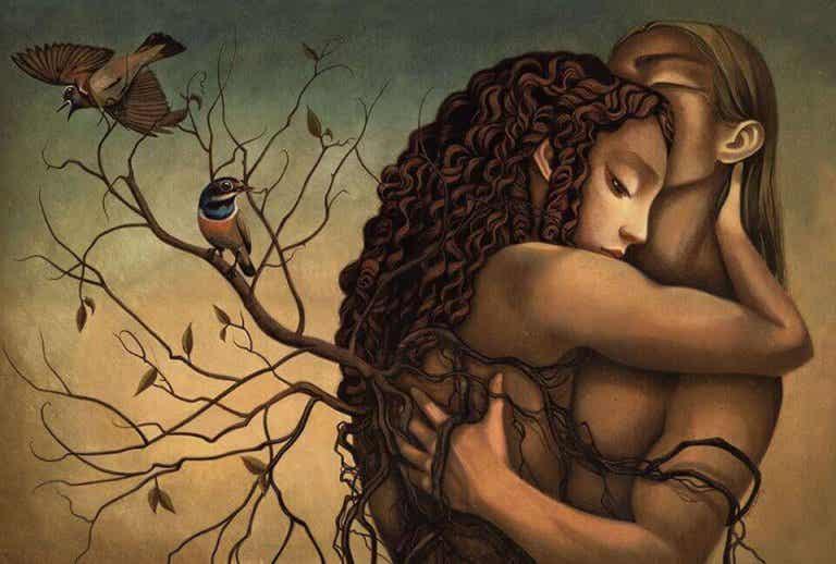 Amo gli abbracci che scacciano la tristezza