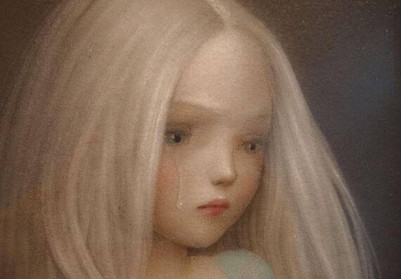 Bambina-lacrime