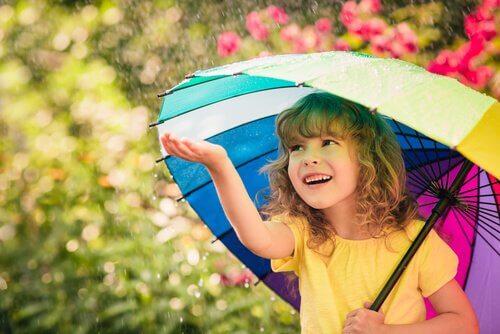 bambina-felice-ombrello