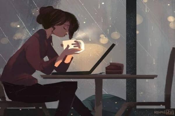 donna-caffè-notte