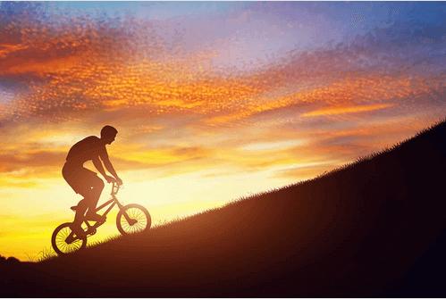 Bicicletta-montagna