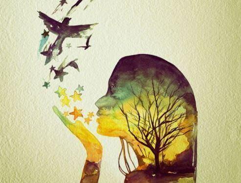 baci a forma di stelle e uccelli