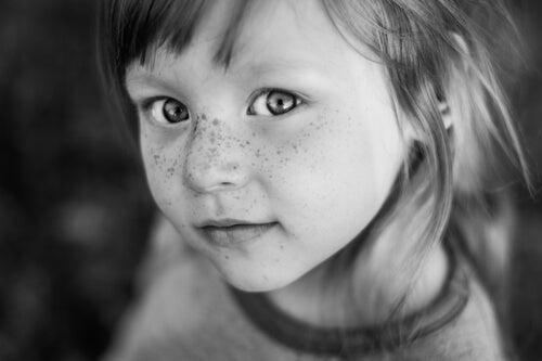 bambina molto bella