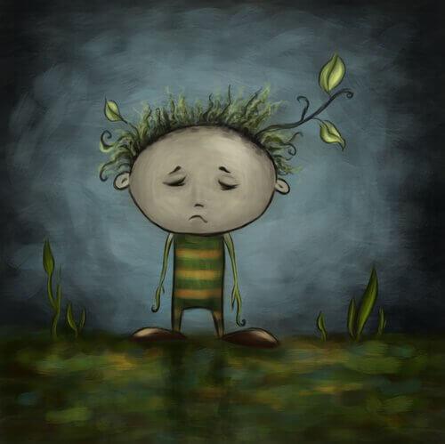 bambino triste