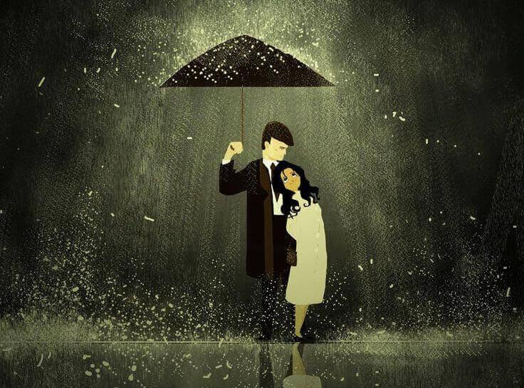 Coppia-sotto-la-pioggia