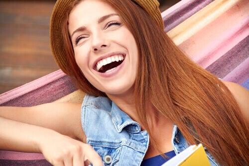 Donna che sorride