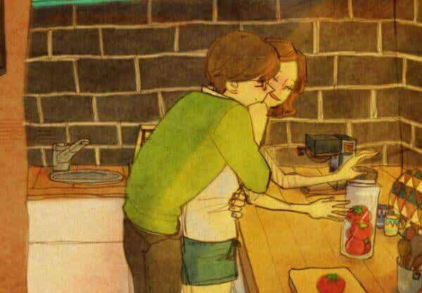 Un abbraccio è una poesia d'amore scritta sulla pelle