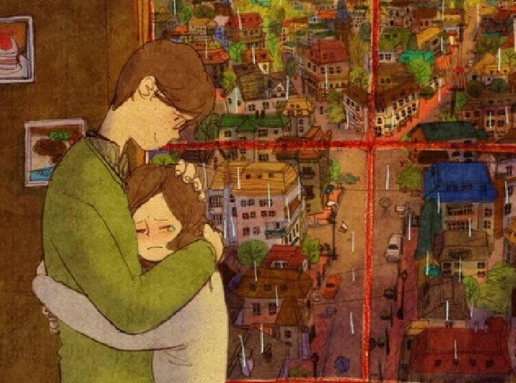 Un giorno ti abbracceranno così forte da unire le tue parti rotte