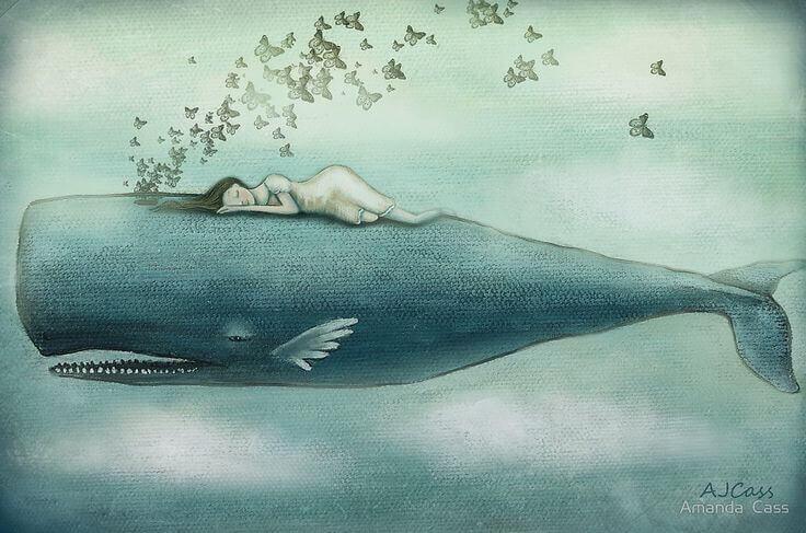 A volte piangiamo tante lacrime da riempire l'oceano