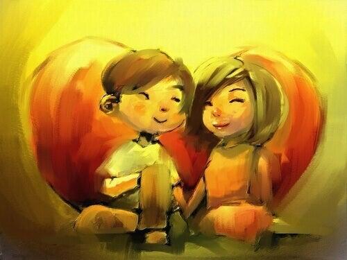 Se ami qualcuno, vuoi vederlo felice