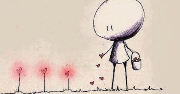 bambino coltiva amore