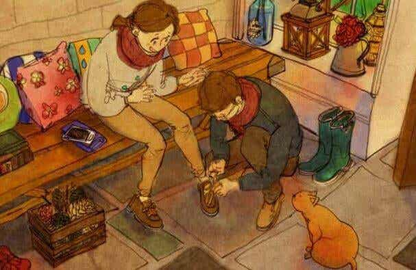 Trattare con affetto significa toccare con rispetto l'anima altrui