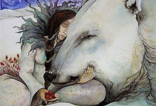 donna-abbraccio-orso