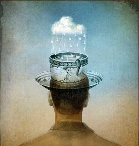 pioggia nel cervello