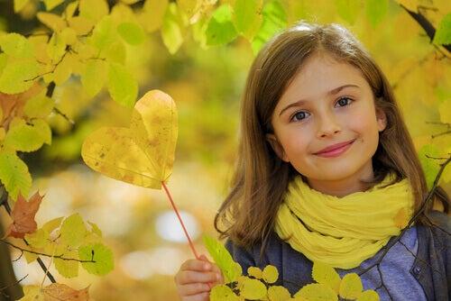 Un bambino gentile è un bambino sano