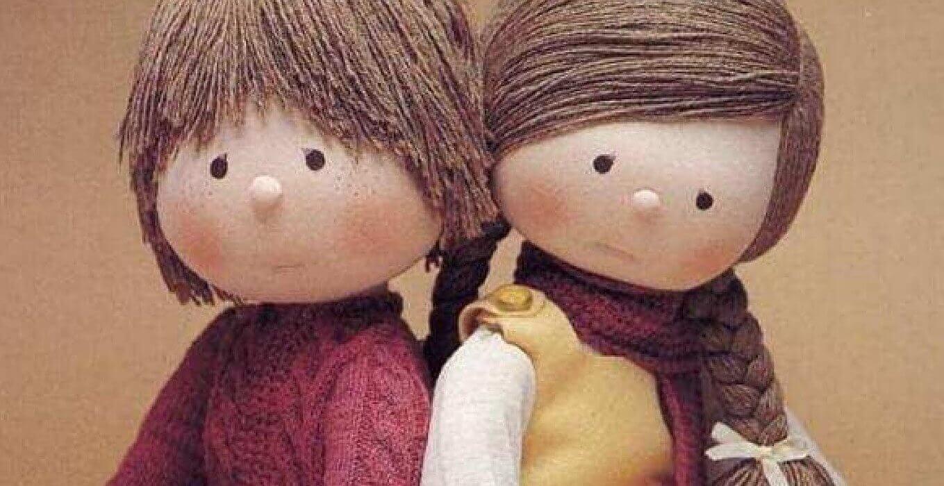coppia di bambole