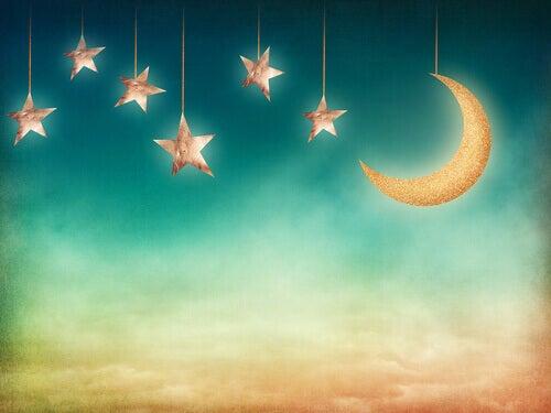 Cielo-stelle-luna