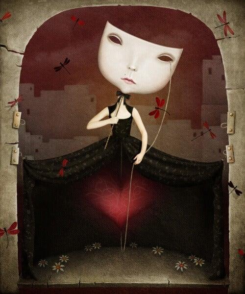 Marionetta di una bambina