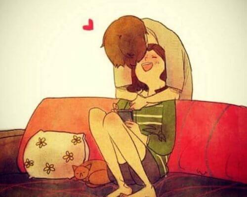 """Adoro gli abbracci che ci fanno dire """"Avversità, non mi avrete"""""""