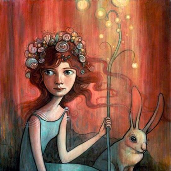 bambina-coniglio