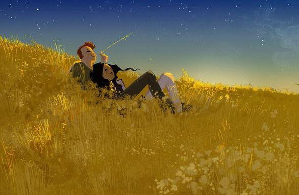coppia-su-campo-di-grano