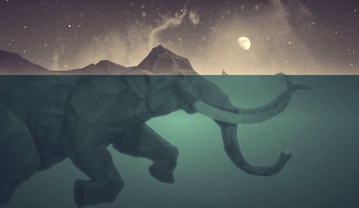 elefante-in-acqua