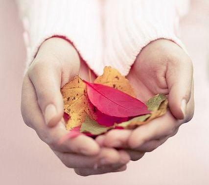 mani-femminili-con-foglie