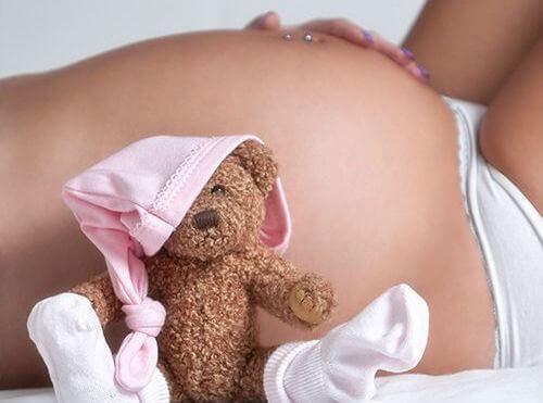 pancione di donna incinta